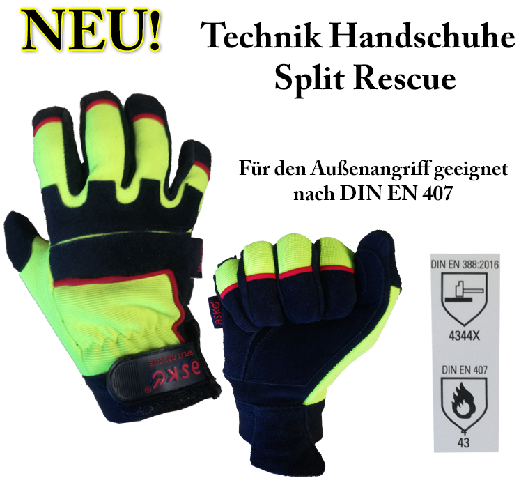 Holik Rescue Handschuhe Lesley Plus hoher Schnittschutz verschiedene Grössen